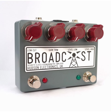 Hudson Electronics Broadcast dual foot switch