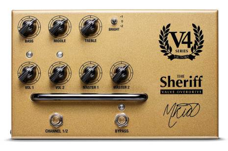 Victory V4 The Sheriff Preamp Pedal