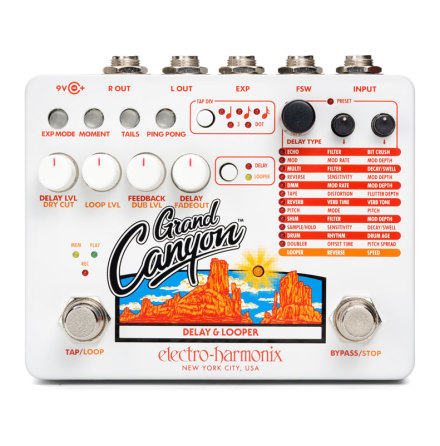 Electro Harmonix Grand Canyon Delay and Looper