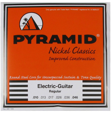 Pyramid Pure Nickel Classics Round Core Electric 010-046