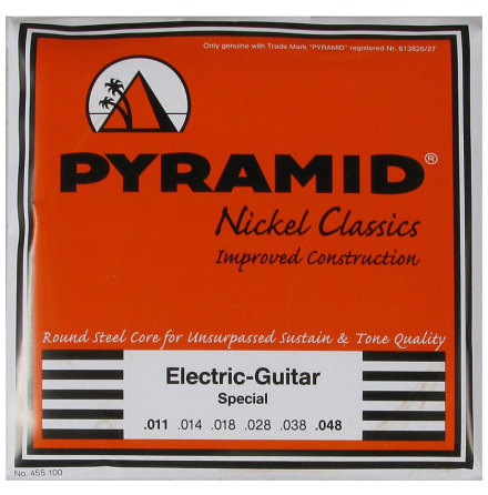 Pyramid Pure Nickel Classics Round Core Electric 011-048