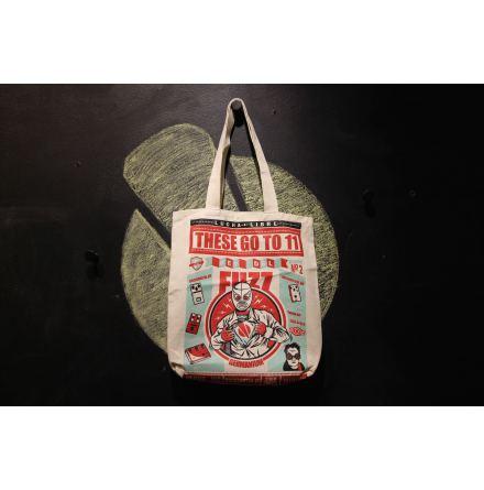 TGT11 Tote Bag Rey del Fuzz