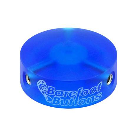 Barefoot Buttons V1 COLORED ACRYLIC BLUE
