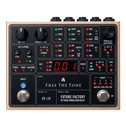 Free The Tone Future Factory FF-1Y Delay