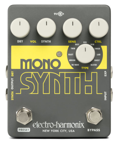 Electro Harmonix Mono Synth Guitar Synthesizer