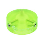 Barefoot Buttons V1 COLORED ACRYLIC GREEN