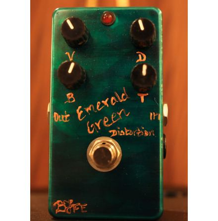 BJFE Emerald Green Distortion