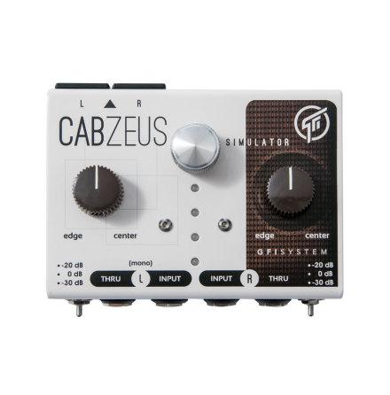 GFI System Cabzeus Stereo Speaker Simulator + DI Box v2