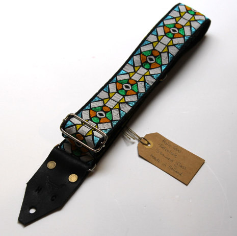 Holy Cow Retrolook Stained Glass strap
