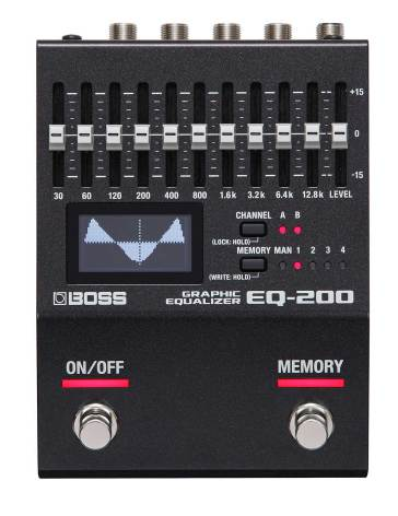 BOSS EQ-200 Graphic Equaliser