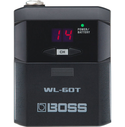 BOSS WL-60 GUITAR WIRELESS TRANSMITTER