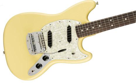 Fender American Performer Mustang Rosewood Vintage White