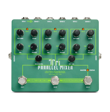 Electro Harmonix Tri Parallel Mixer Effects Loop Mixer/Switcher
