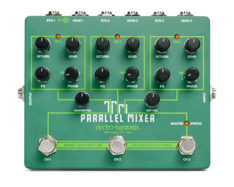 Electro Harmonix Tri Parallel Mixer Effects Loop Mixer/Switcher