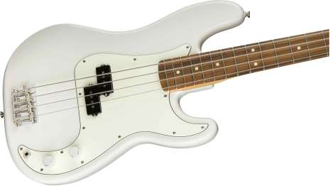 Fender Player Precision Bass Pau Ferro Polar White