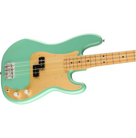 Fender Vintera 50s Precision Bass Maple Neck Sea Foam Green