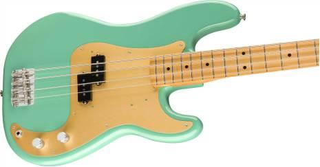 Fender Vintera 50s Precision Bass Maple Neck Sea Foam Green