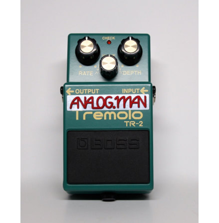 Analog Man Boss TR-2/Super Tremolo pedal