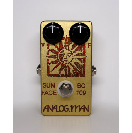 Analog Man SunFace Fuzz Philips BC109B Silicon