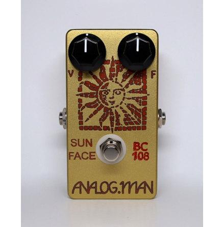 Analog Man SunFace Fuzz TFK BC-108C Silicon
