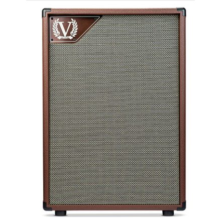Victory V212-VB Closed Back 2x12 Cabinet in Copper Vinyl for VC35