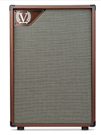Victory V212VB Closed Back 2x12 Cabinet in Copper Vinyl for VC35
