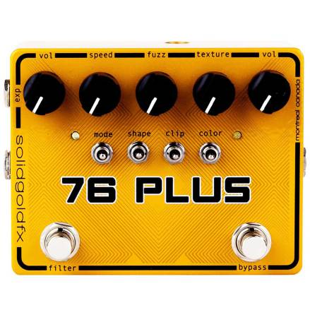 Solid Gold FX 76 Plus Octave Fuzz Filter