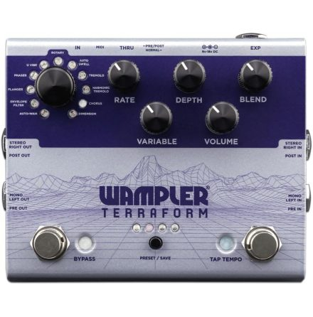 Wampler Terraform Modulation FX