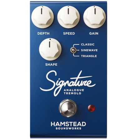 Hamstead MkII Signature Analogue Tremolo