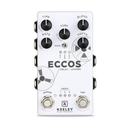 Keeley Eccos Vintage Tape Flanged Delay