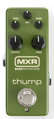 MXR Thump Bass Preamp