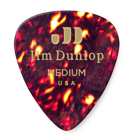 Dunlop Celluloid Shell Pick Medium Players Pack 12-Pack