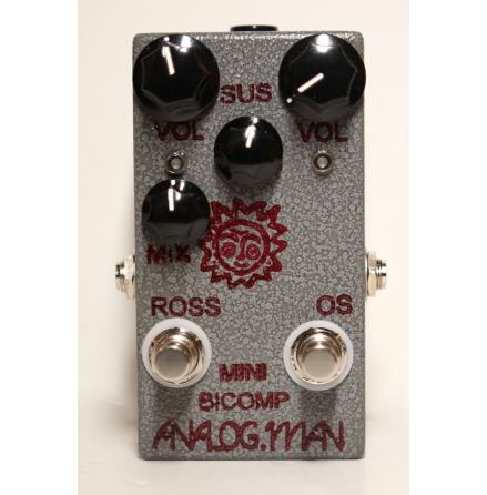 Analog Man Mini Bi-Comp REV5 w/ external Mix Knob