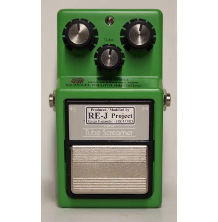 Analog Man TS-9/808 Mods Silver Mod