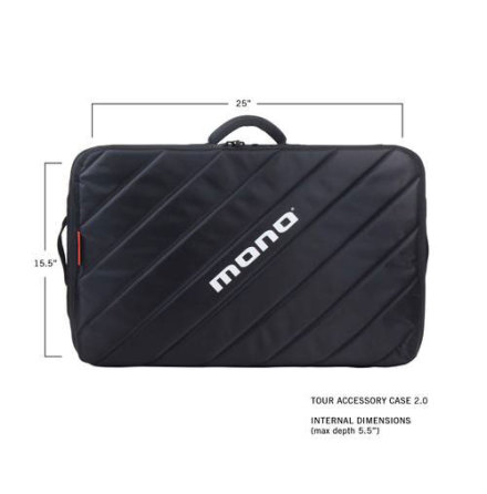 MONO M80 Tour Pedalboard Case 2.0, Black