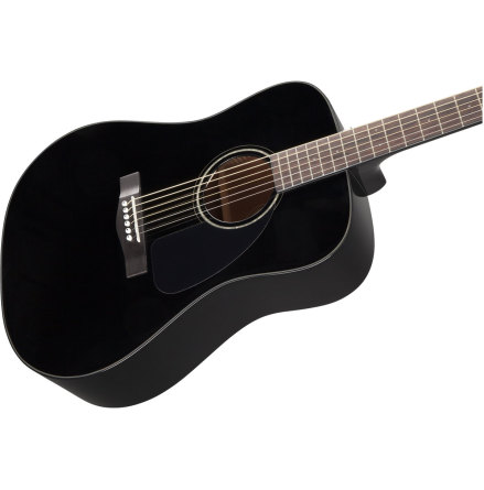 Fender CD-60 Dread V3 DS  Blk WN