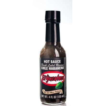 El Yucateco Black Label Reserve Habanero Hot Sauce