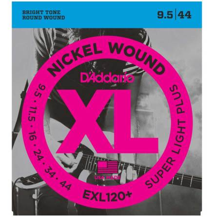 Daddario EXL120+ Elgitarr Nickel Wound 9.5-44