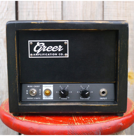Greer Amps Mini Chief 3 watt amp head