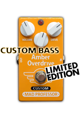 Mad Professor Amber Overdrive Custom for bass