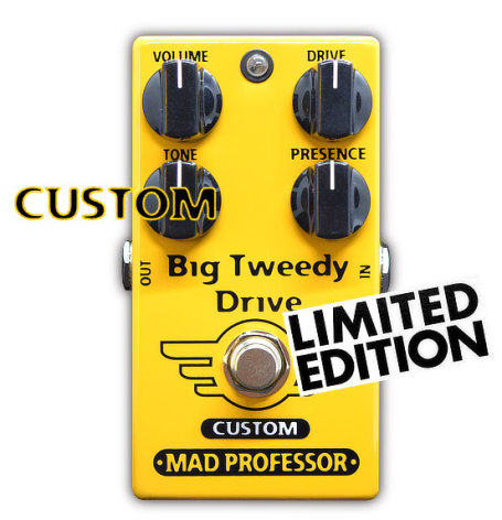 Mad Professor Big Tweedy Drive with Super Tweed mod
