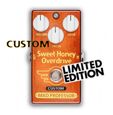 Mad Professor Sweet Honey Overdrive with Fat Bee mod