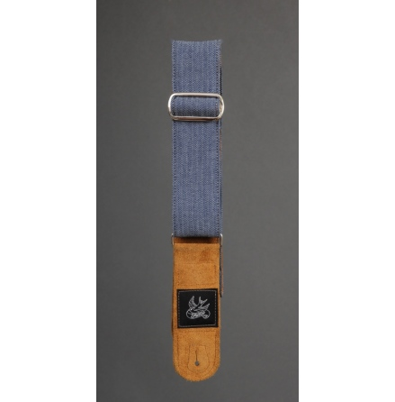 JayKco Casey Jones Engineer Denim Guitar Strap
