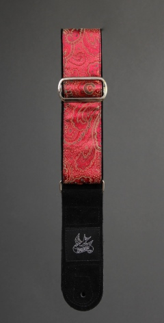 JayKco Red and Gold Paisley
