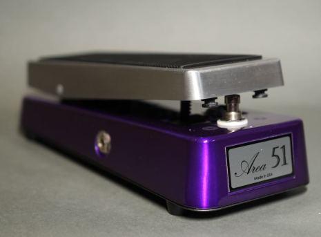 Area 51 Clone Wah Vox Purple w output Buffer