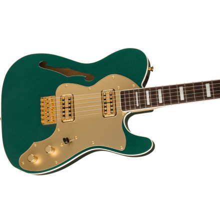 Fender Lim Ed Super Deluxe Thinline Telecaster - Sherwood Green Metallic