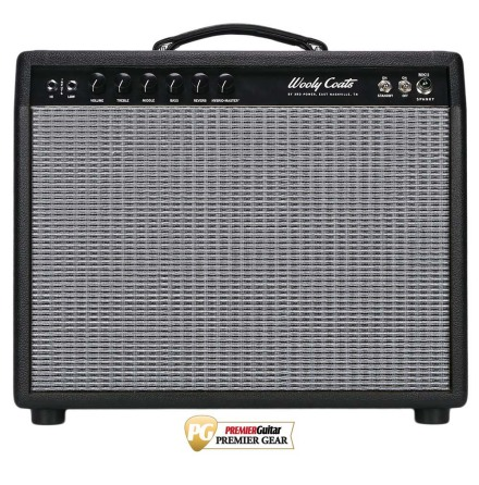 3rd Power Wooly Coats Spanky MKII 112 Black tolex silver grill