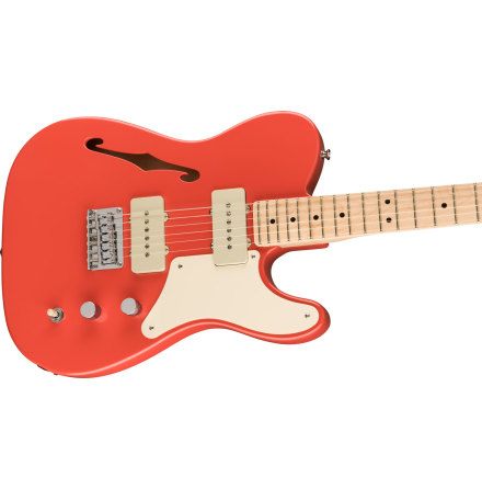 Fender SQ Paranormal Cabronita Telecaster Thinline Fiesta Red