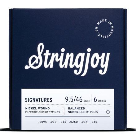 Stringjoy Balanced Super Light Plus (9.5-46) Nickel Wound Electric Guitar String