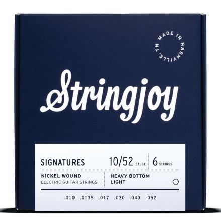 Stringjoy Balanced Heavy Bottom Light (10-52)Nickel Wound Electric Guitar String